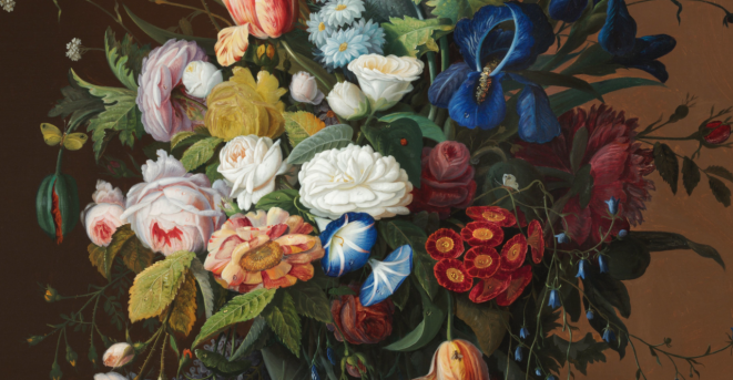 Flower Still Life with Bird's Nest by Severin Roesen, 1852.png