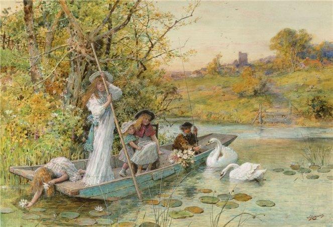 William Stephen Coleman (britanic, 1829-1904)