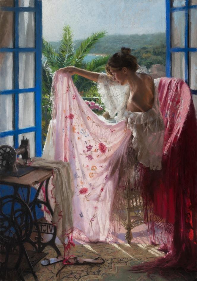 Vicente Romero Redondo, pictor spaniol