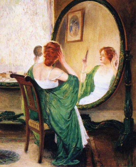Această imagine are atributul alt gol; numele fișierului este green_mirror_1911.jpg